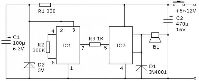 电路21使用氖灯的单键触摸开关  触摸式照明开关是一种非常实用的电子开关,用手触摸一下导电片,就能实现开关动作, 使用方便可靠、电路简单、性能稳定、寿命长、节电效果明显。适合于爱好者自制。 一、电路工作原理   电路原理如图 21所示。  图 21使用氖灯的单键触摸开关电路图   接通电源后,因C3、R5的微分作用,CD4017自动复位清零,插座为断电状态。当人手触摸 M1后,氖灯发光,CDS的阻值减小使U1的 CL端变为高电平,Q1由此输出高电平,使TRIAC导通点亮灯泡。当人手再一次触摸M1后,U17