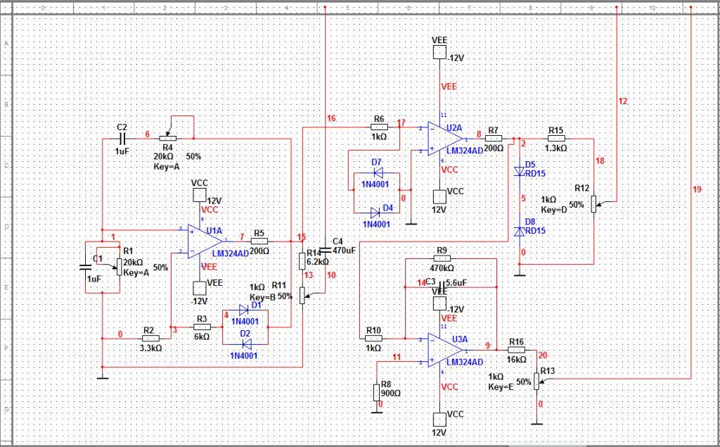 模电课设之函数信号发生器