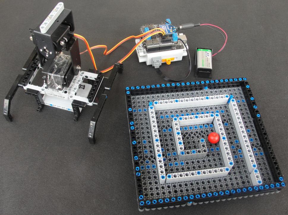 模型车数字舵机电路板图