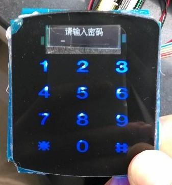 oled电子密码锁电路图