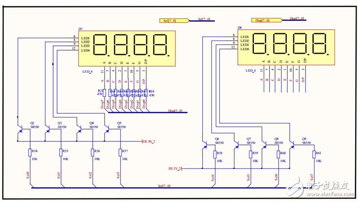 基于fpga的8位数码管扫描显示电路设计