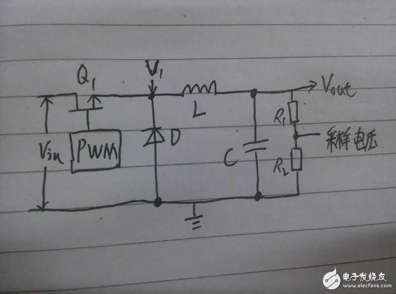 buck电路的电路图如图1所示