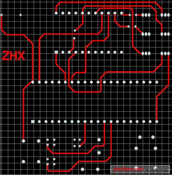数字时钟设计原理电路图及pcb图