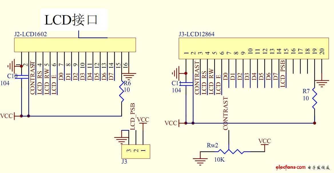 51单片机开发板电路原理图