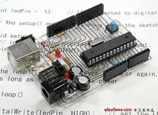 不用软件设计,纯手工打造的电路板,天才!