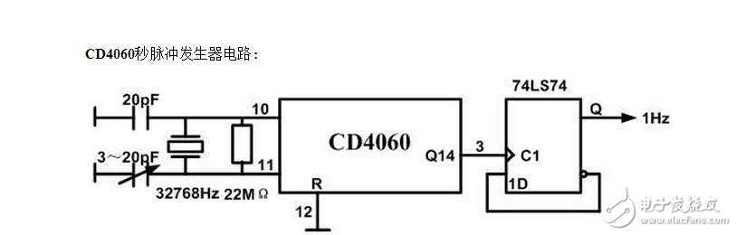 我的秒脉冲时钟电路为什么不能正常工作 - 电路设计