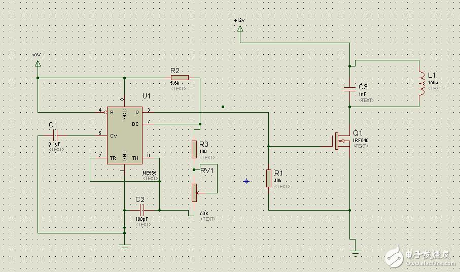 ne555构成的振荡信号可以驱动irf540吗? - 电路设计