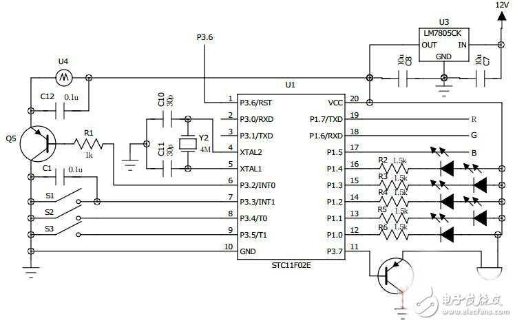 [创意diy] diy简陋的超声雾化器