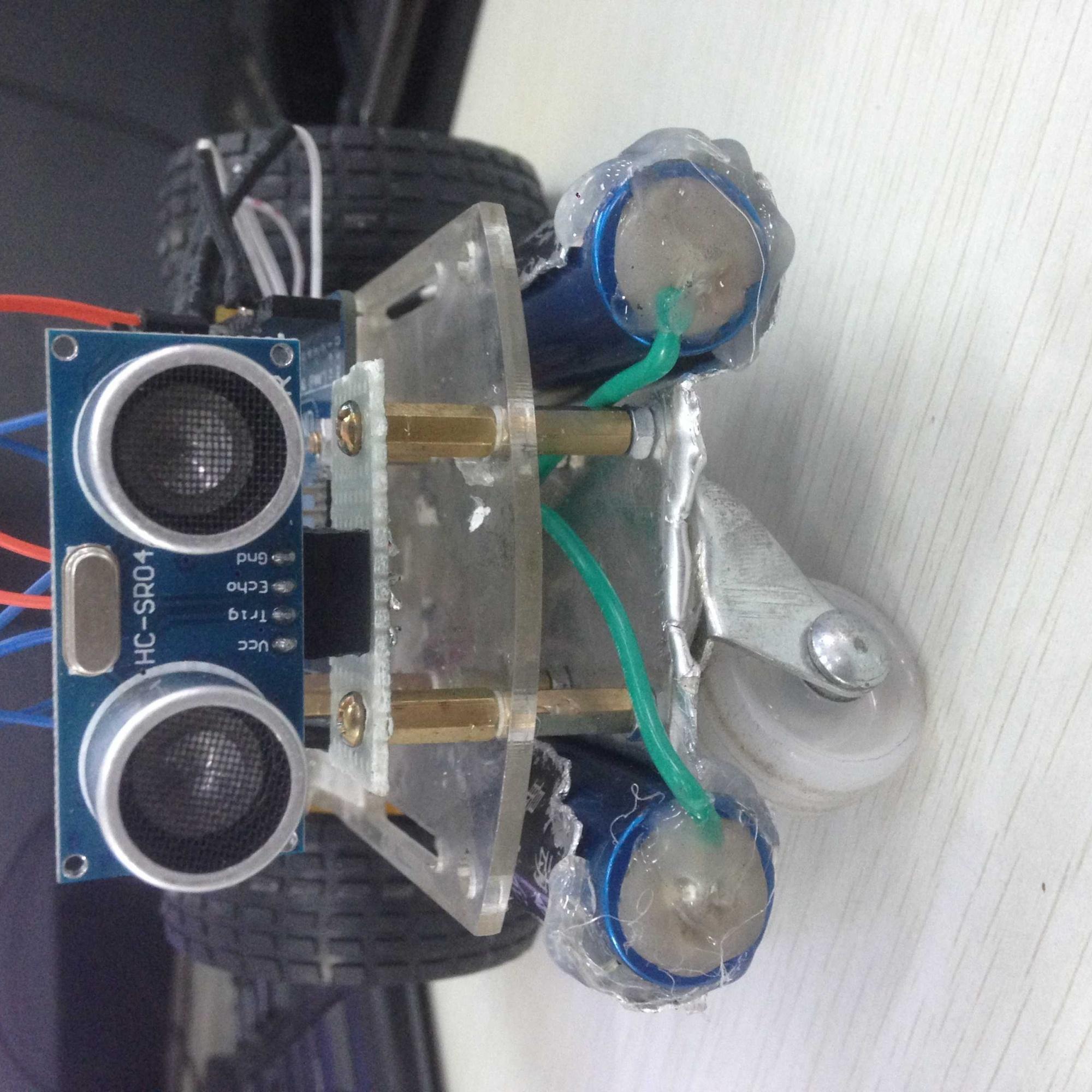 纯手工打造基于arduino uno的自动避障小车(开发环境m