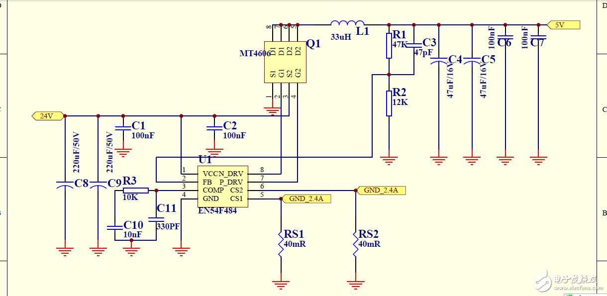 8a   最大极限电流6a  工作频率100khz  支持线补功能,恒流功能,限流