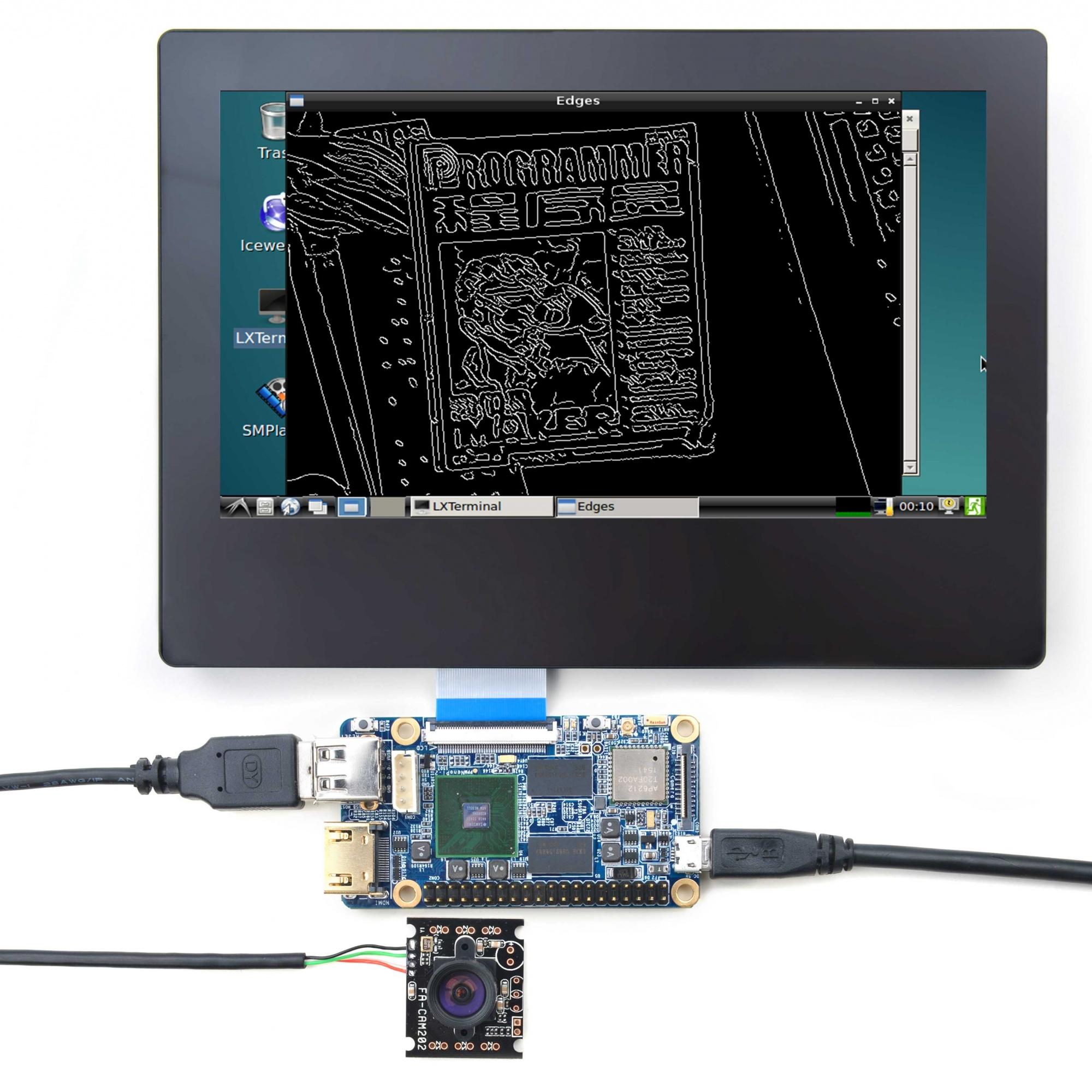 i 2接USB摄像头使用OpenCV 创客神器NanoPi 中国电子技术论坛 最