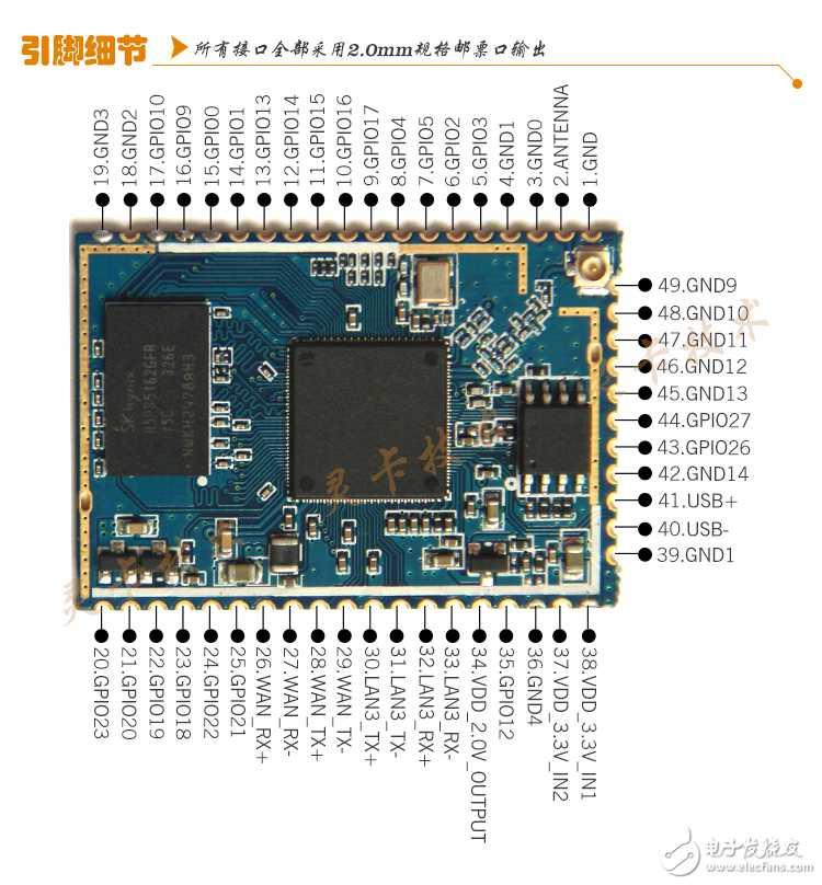 lc930_高通ar9331芯片 wifi模块