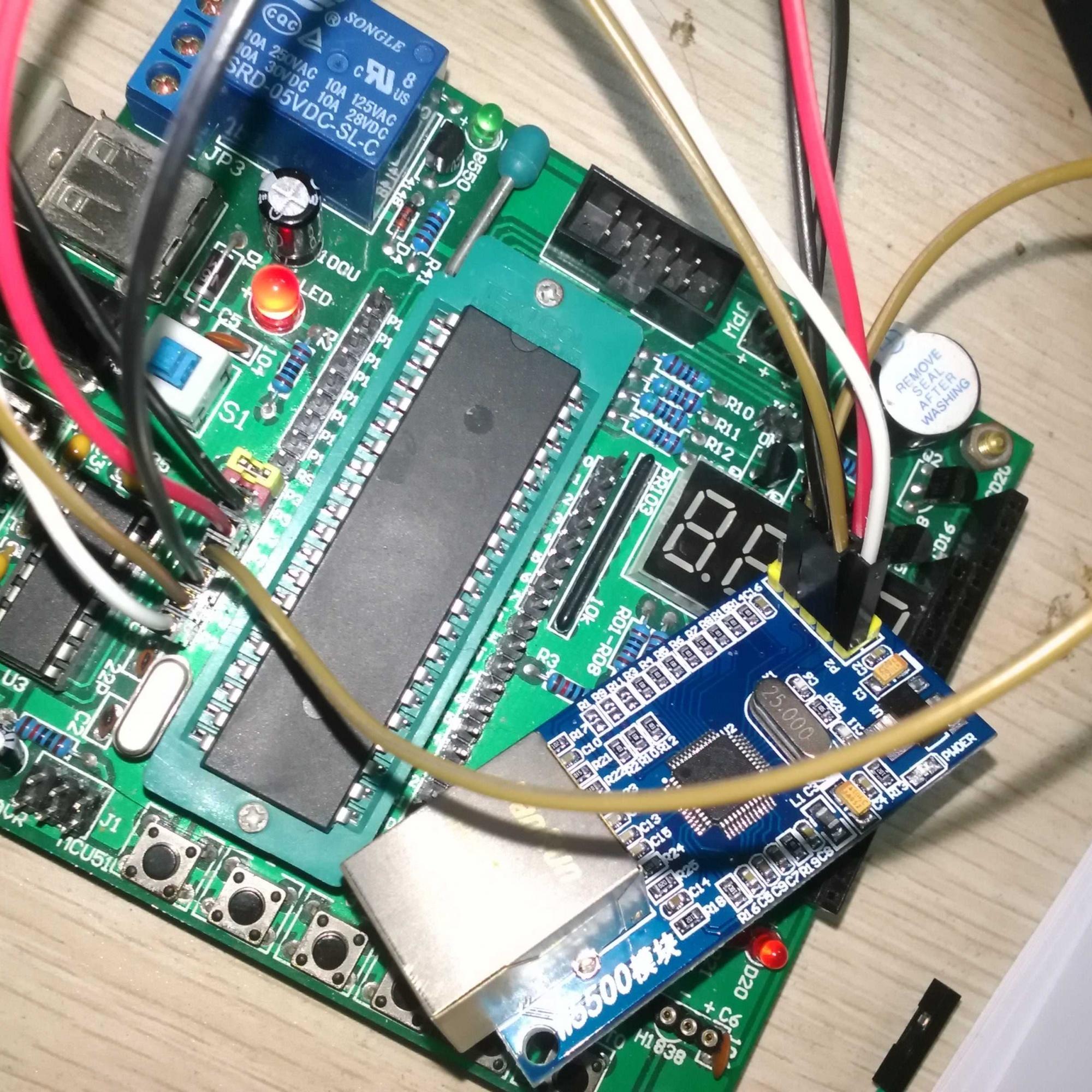 51单片机 w5500上网模块资料,有程序,原理图,很赞