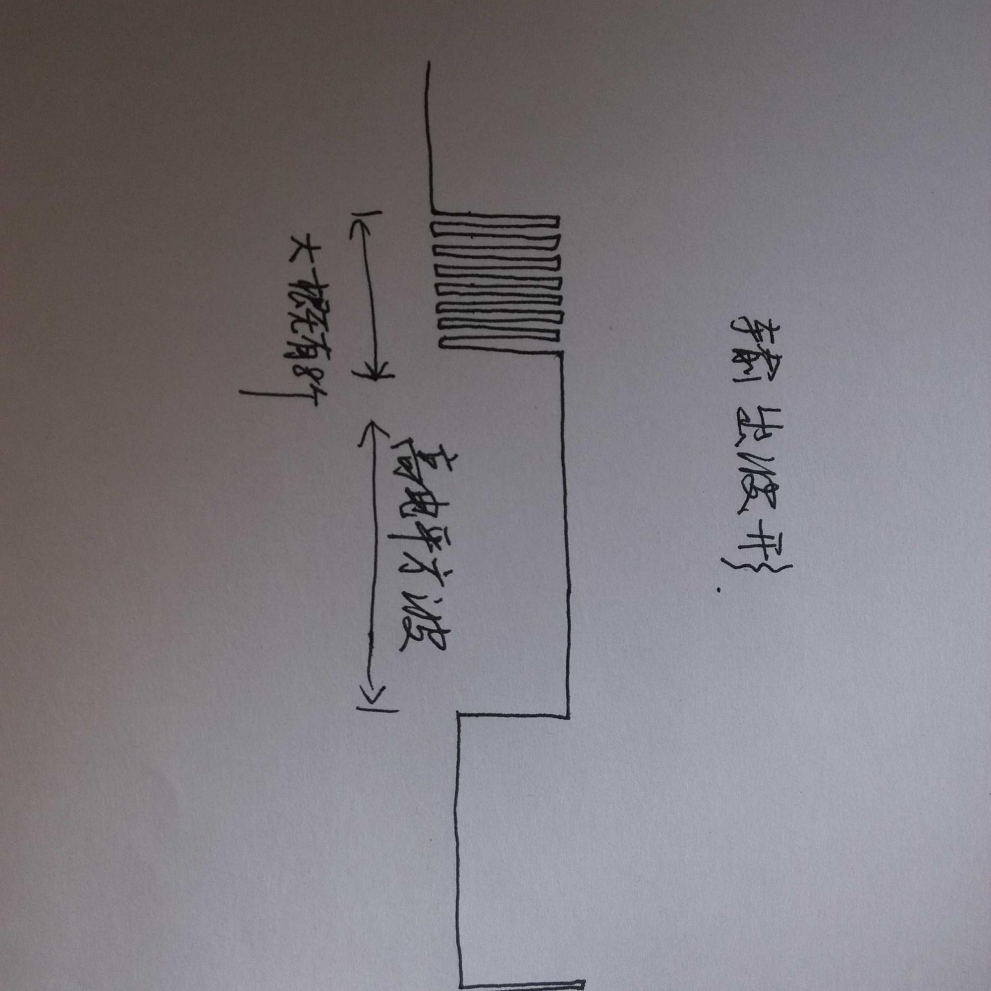 下图是我画的tl494脉宽调制电路图(我输出的波形不知道为啥就是有
