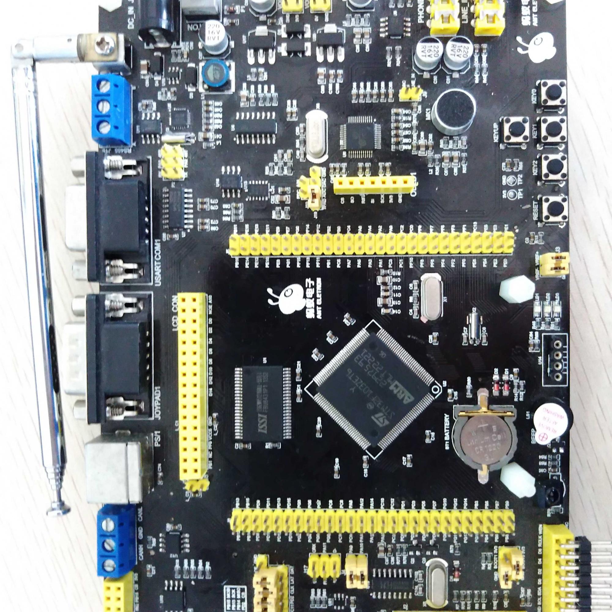 小弟有一个蚂蚁电子的stm32f103zet6开发板