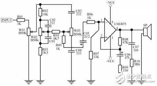 关于lm1875功放电路原理图