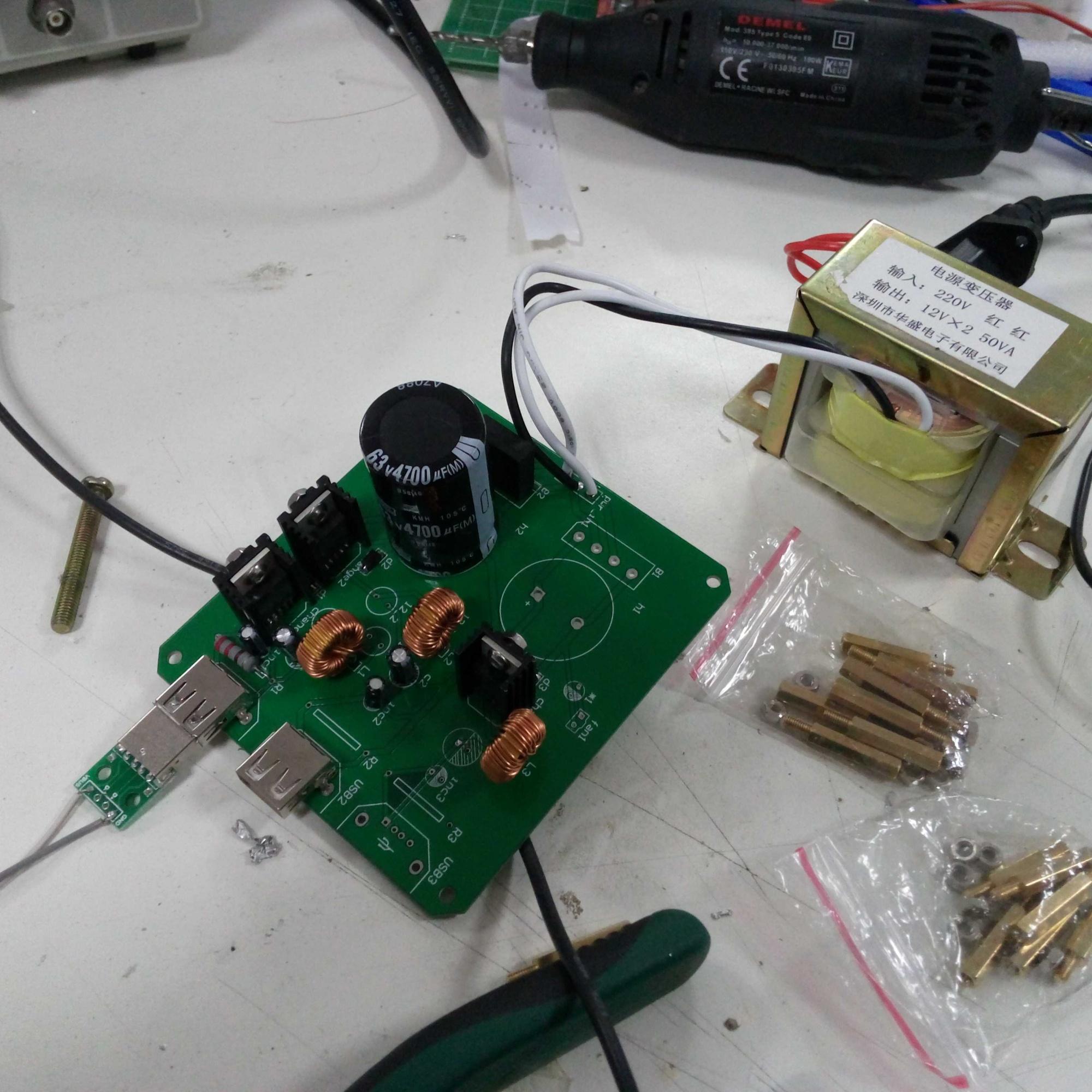 lm2596输出锯齿波求助 - 电路设计论坛 - 中国电子