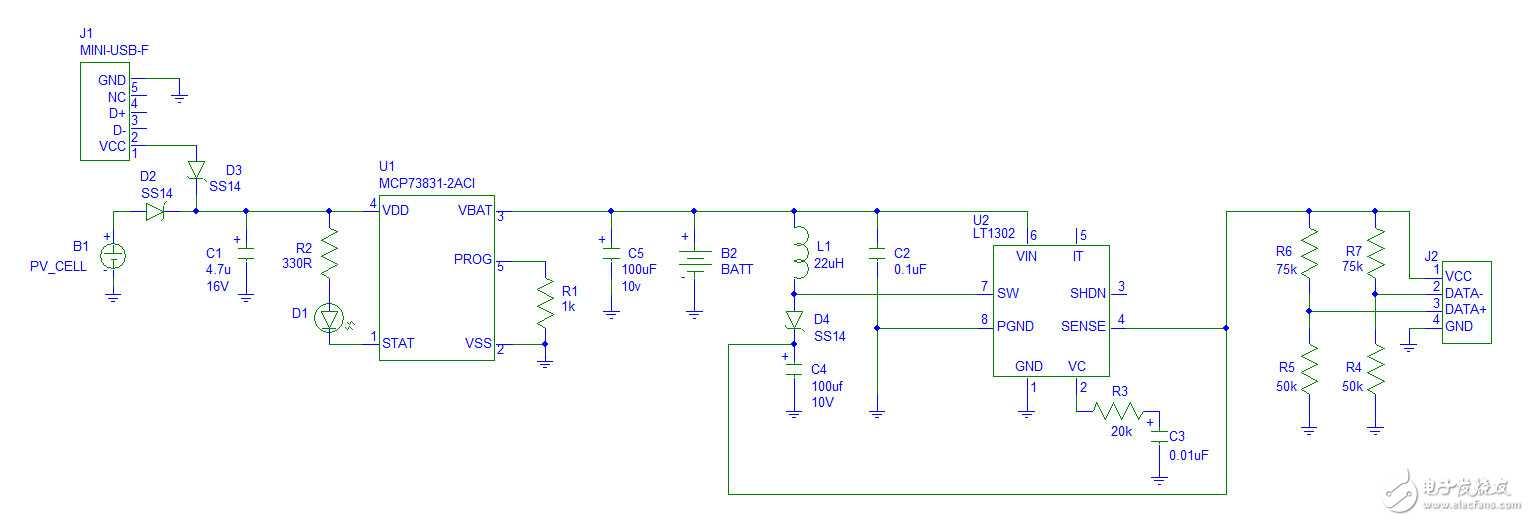 diy 5v 太阳能充电器 - 电路设计论坛 - 中国电子技术