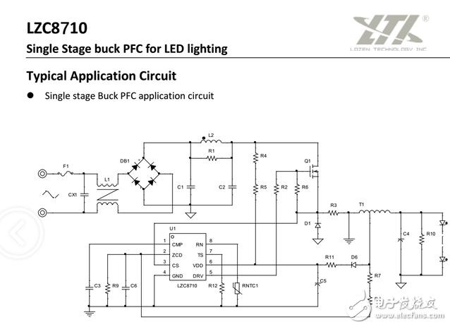 分享方案:隔离 高PF 外置MOS 10-100W 过认证 防雷,性能稳定,高效率,高性价比(最大有人做到200W) 方案品牌:美国菱奇(LZC811C LZC8120) 另有非隔离10-100W (LZC8710 LZC8720) 方案特点:THD值小于10%,电流精度3,效率高达90%,工作频率100K以下,35K以上 芯片概述: (1)原边电流保护功能,能够检测在LEB时间内的过流; PSR(SSR)+PFC架构的LED恒流控制芯片,同时支持原边反馈 (2)同时集成LED短路,开路保护,过温保护等功