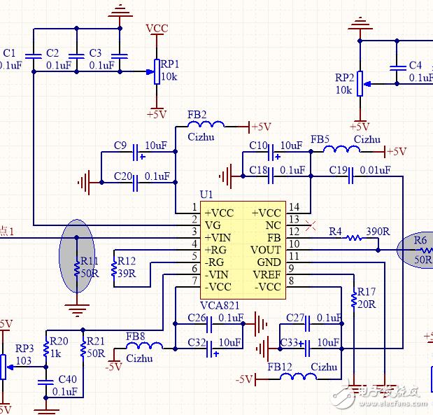 vca程控放大电路