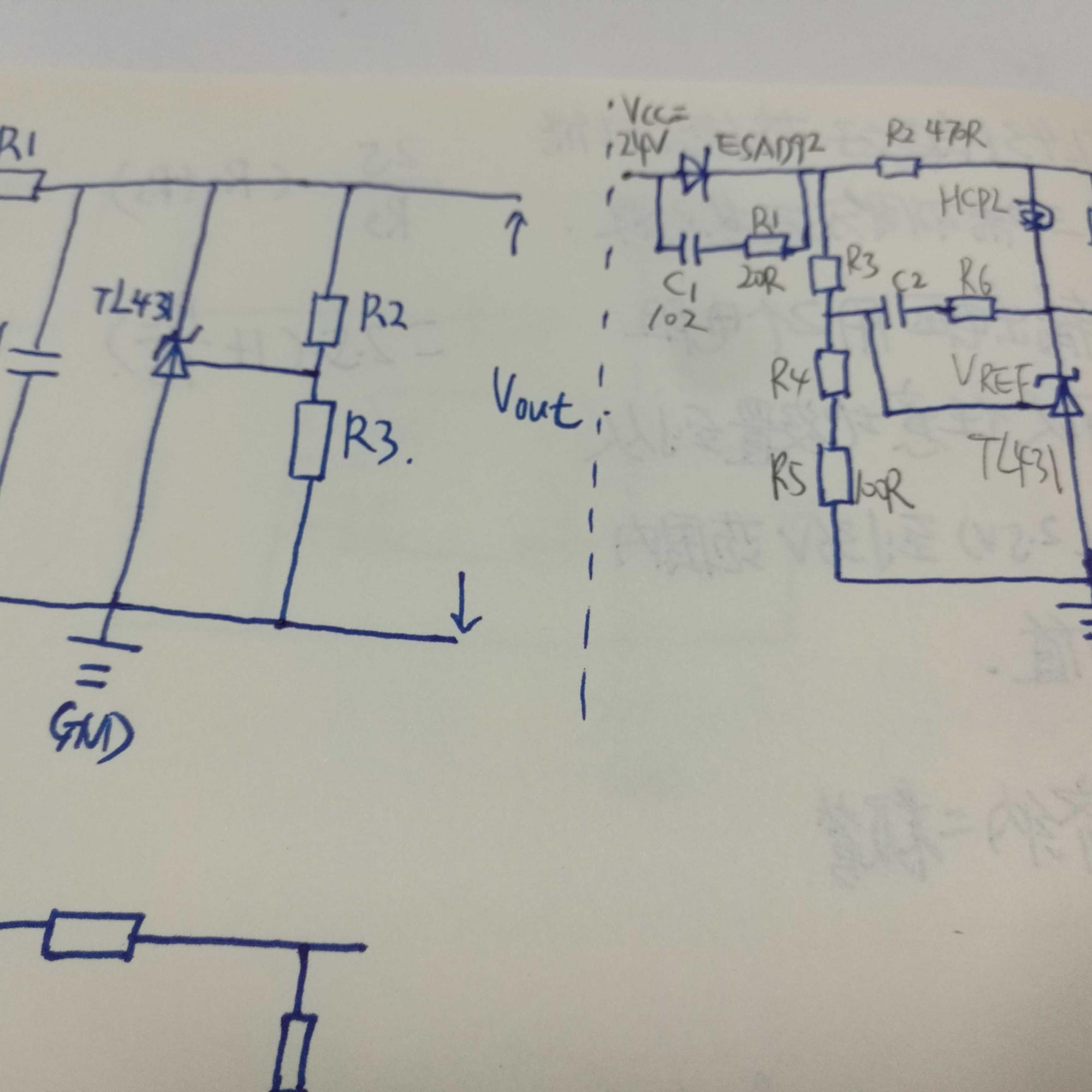 稳压器件tl431散问 - 电路设计论坛 - 中国电子技术